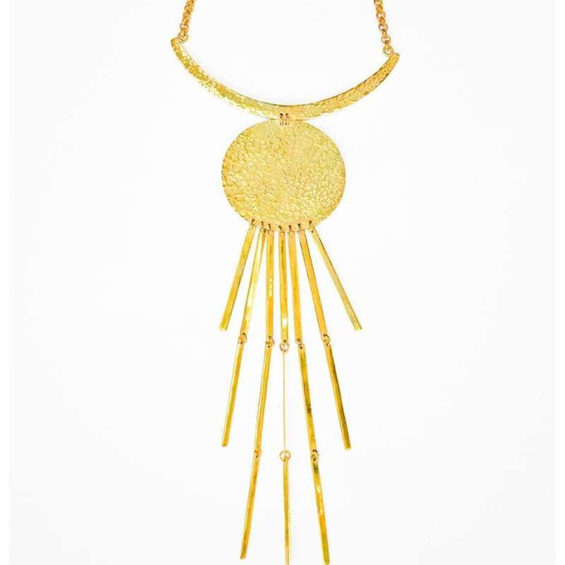 Moon Rays Necklace - Mujer - Joyería - Collares