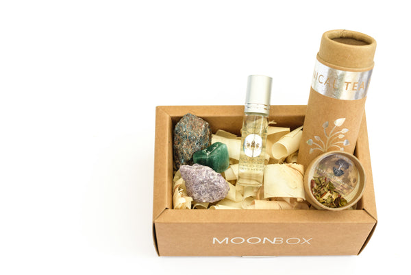 July 'NOURISH' MoonBox Botanical Tea Blend Benefits