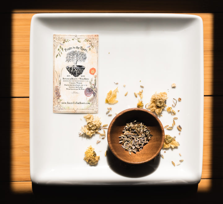 August 'MANIFEST' MoonBox Botanical Tea Blend Benefits