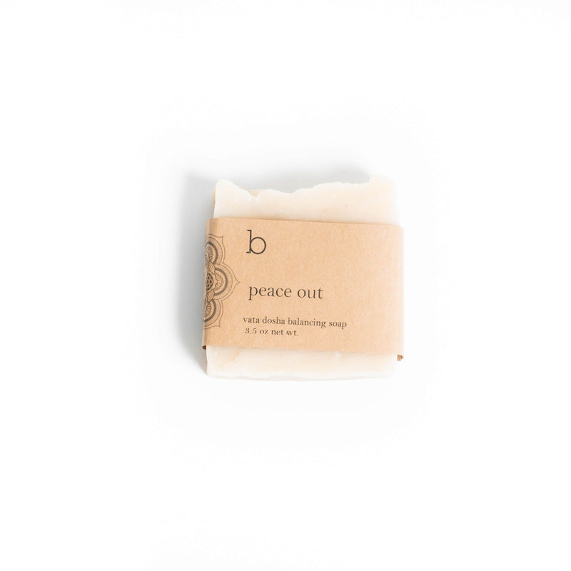 Peace Out Dosha Balancing Soap by Belladonna Soaps