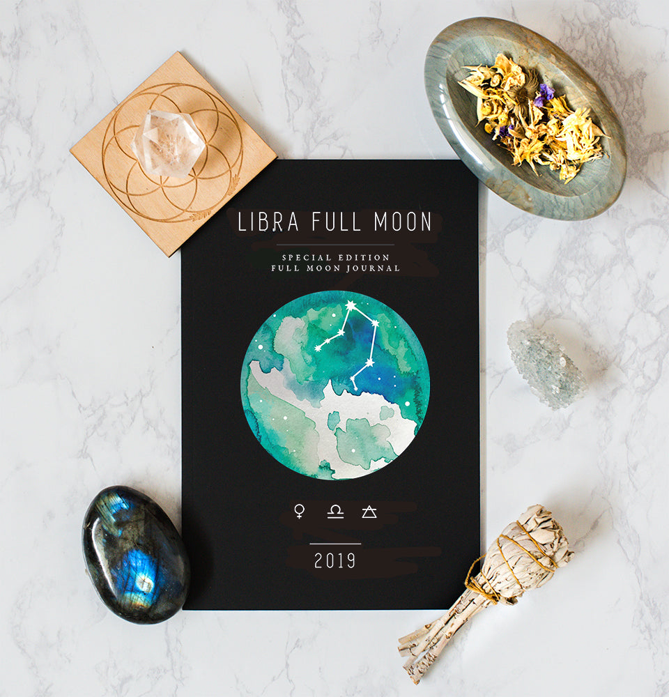 Libra Full Moon Workbook (April 19) - Spirit Daughter