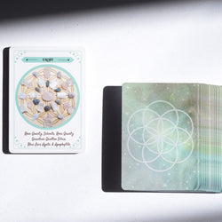 Crystal Oracle Card Deck by Love & Light School