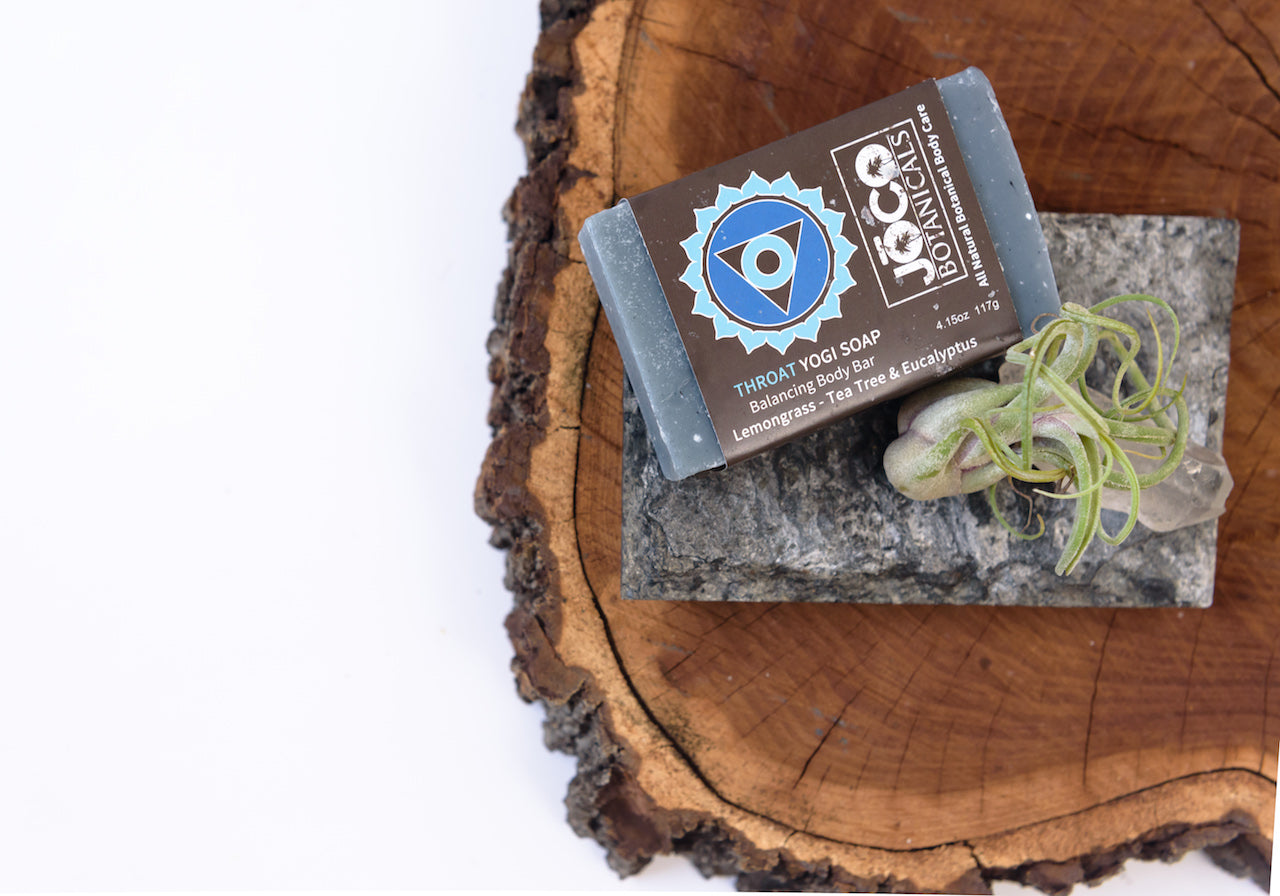 Joco Botanicals Throat Chakra Balancing Body Bar