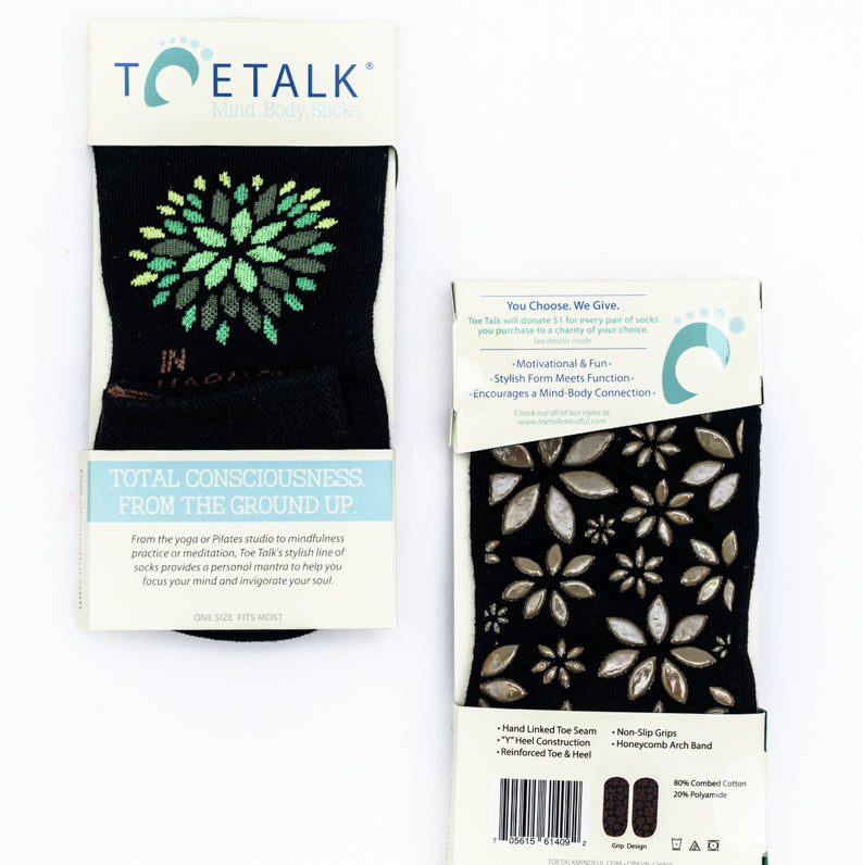 In Harmony Socks by Toetalk Mindful