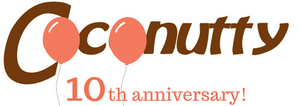 10th anniversary logo coconutty