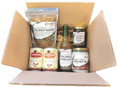 Coconutty Gourmet Selection Box