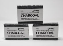 Wholesale Pack of 50 Charcoal & Tea Tree Soap Bars 100g