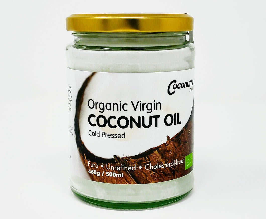 COCONUTTY 100% Organic Virgin Coconut Oil 500ml