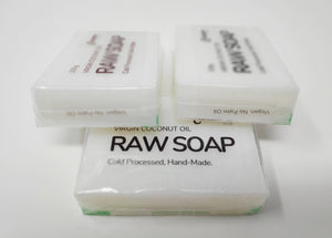 Wholesale Pack of 50 Saponified Virgin Coconut Oil Soap Bars 100g