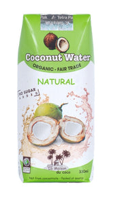 La Maison Organic Coconut Water, Fair Trade 330ml - Coconuttyltd