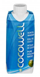 Cocowell PURE Coconut Water 330ml - Coconuttyltd
