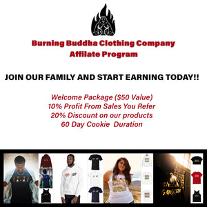 Burning Buddha Clothing Co Affiliate Program