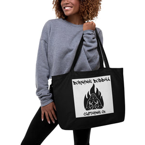 Burning Buddha Clothing Graffiti Logo Tote Bag