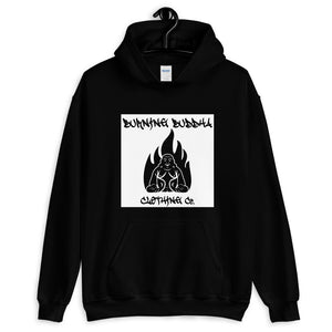 Burning Buddha Clothing Graffiti Logo Hoodie