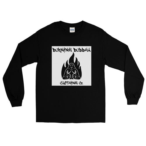 Burning Buddha Clothing Graffiti Logo Long Sleeve