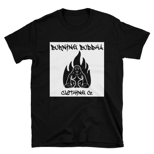 Burning Buddha Clothing Graffiti Logo T-Shirt