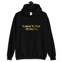 Burning Buddha Clothing Graffiti Hoodie