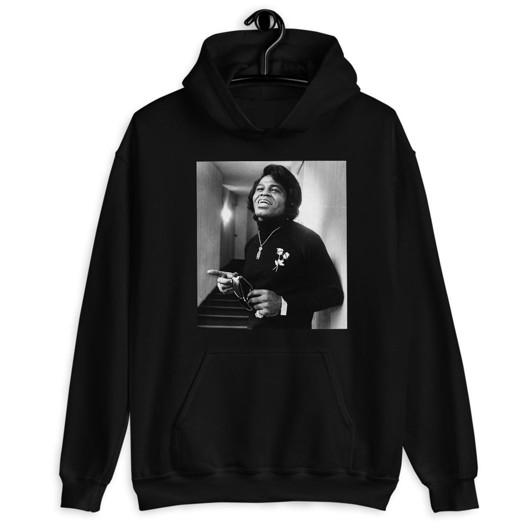 James Brown 'Live Love' Roses Hoodie