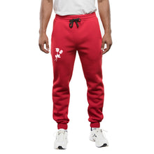 Burning Buddha Live Love Red Joggers