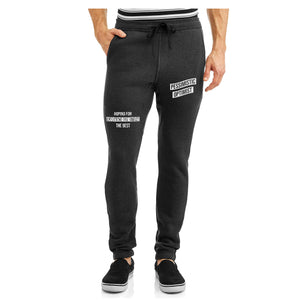 Burning Buddha Pessimistic Optimist Charcoal Joggers