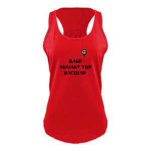 Rage Against the Machine Womens Racerback Tank Top