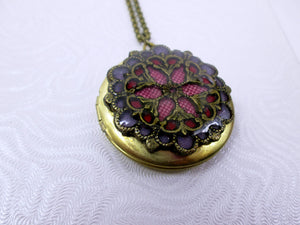 inlay locket