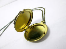Load image into Gallery viewer, inside look of locket necklace