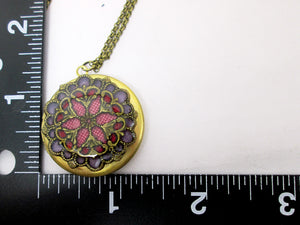 wedding locket necklace