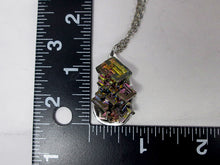 Load image into Gallery viewer, one of a kind bismuth necklace