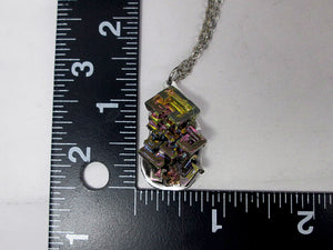 one of a kind bismuth necklace