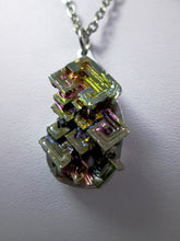 Load image into Gallery viewer, rainbow bismuth necklace