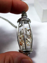 Load image into Gallery viewer, raw diamond crystal necklace