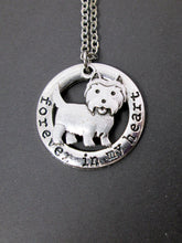 Load image into Gallery viewer, highland terrier necklace