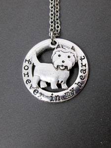 highland terrier necklace