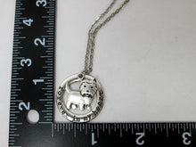 Load image into Gallery viewer, terrier necklace with measurement