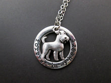 Load image into Gallery viewer, airedale terrier necklace