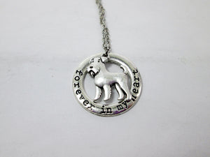 airedale terrier dog necklace