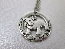 Load image into Gallery viewer, bulldog necklace