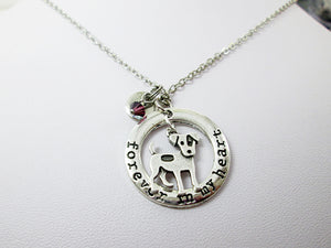 Jack Russell Necklace with personalization