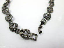 Load image into Gallery viewer, fancy links metal chain necklace