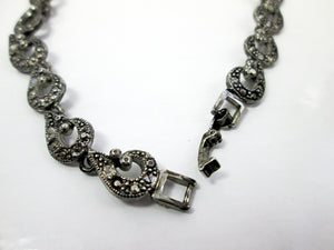 fancy links metal chain necklace