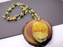 Load image into Gallery viewer, lemon quartz necklace