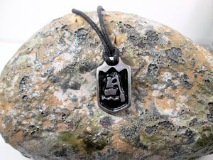 paddler pendant necklace