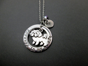 personalized shih tzu dog necklace