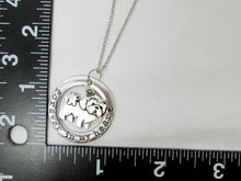 Load image into Gallery viewer, shih tzu dog necklace with measurement