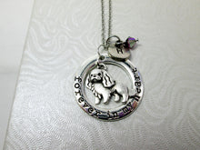 Load image into Gallery viewer, forever in my heart spaniel dog necklace