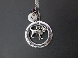 personalized chihuahua necklace