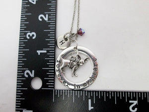 chihuahua necklace with measurement