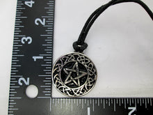 Load image into Gallery viewer, pentagram celtic pendant with measurement