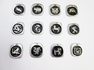 Chinese Zodiac Animal Sign Pendants